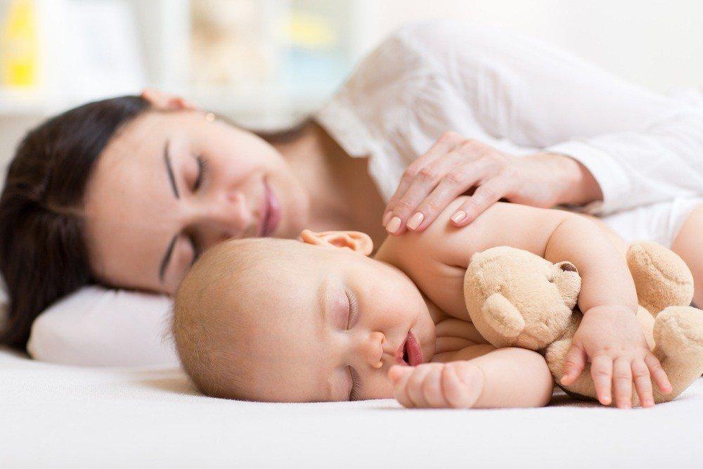 Сон молодой мамы