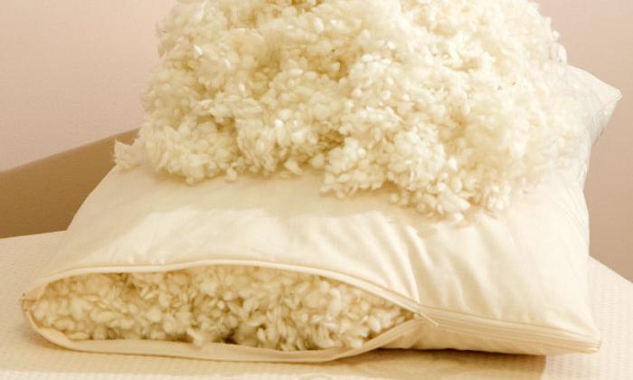 Подушки с натуральными наполнителями