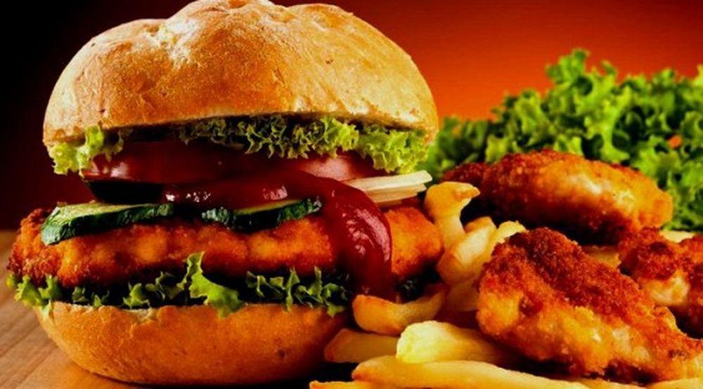 Гамбургер   лучший выбор для перекуса